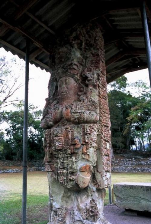 2-Copán ruinas - Honduras