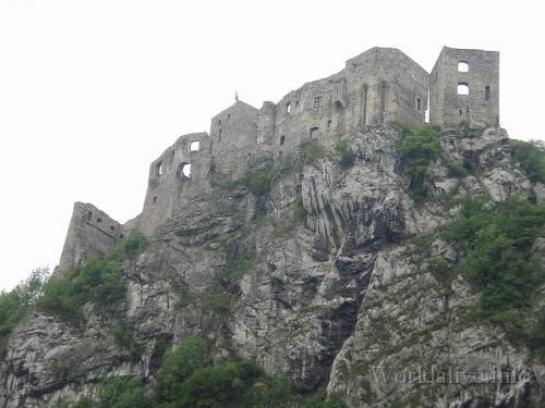 3 Oravsky hrad - hrad Strecno - Cachticky hrad
